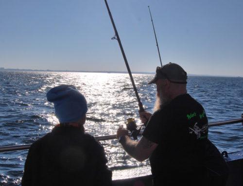 Herbstferienlager mit Fischereischeinlehrgang auf der LIKEDEELER