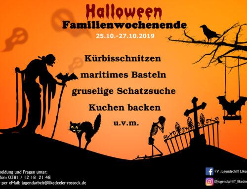 Halloween Familienwochenende 2019